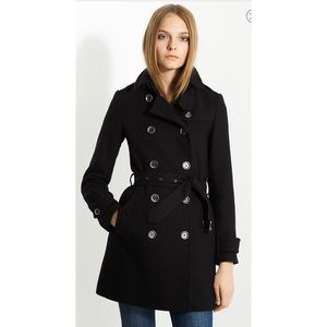 100% Authentic Burberry Brit Blended Wool Coat